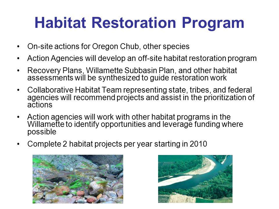 Habitat Restoration Program