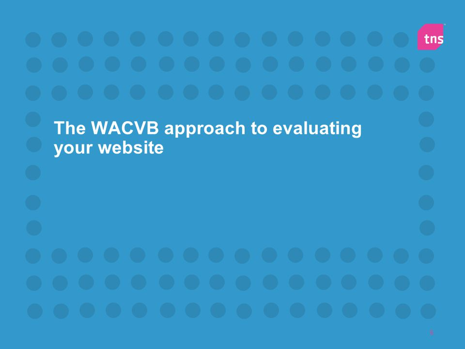 The WACVB approach to evaluating your website