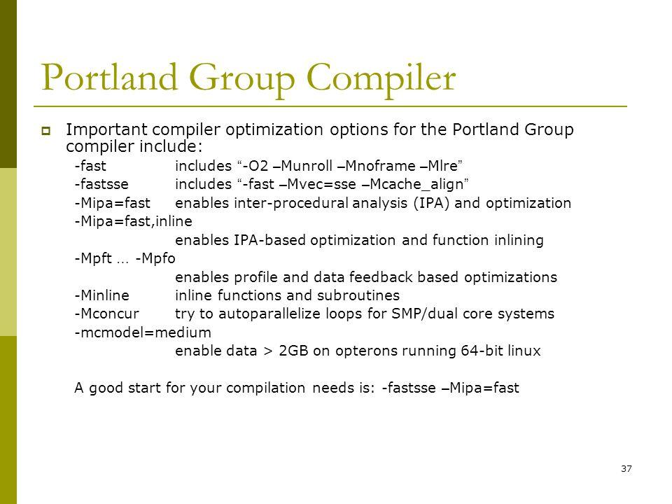 Portland Group Compiler