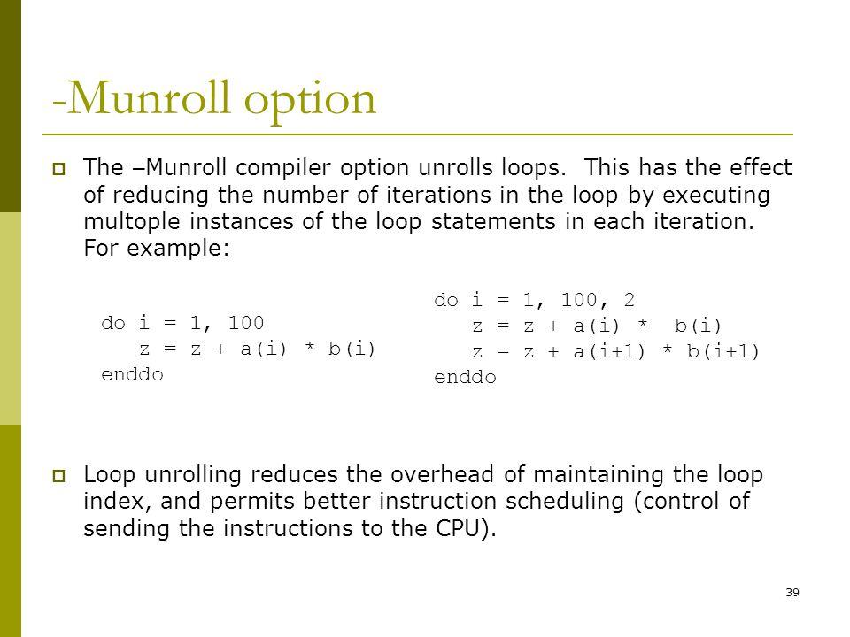 -Munroll option