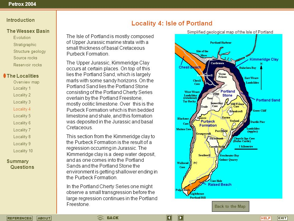 Locality 4: Isle of Portland