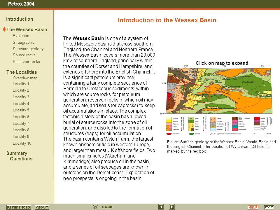 Introduction to the Wessex Basin