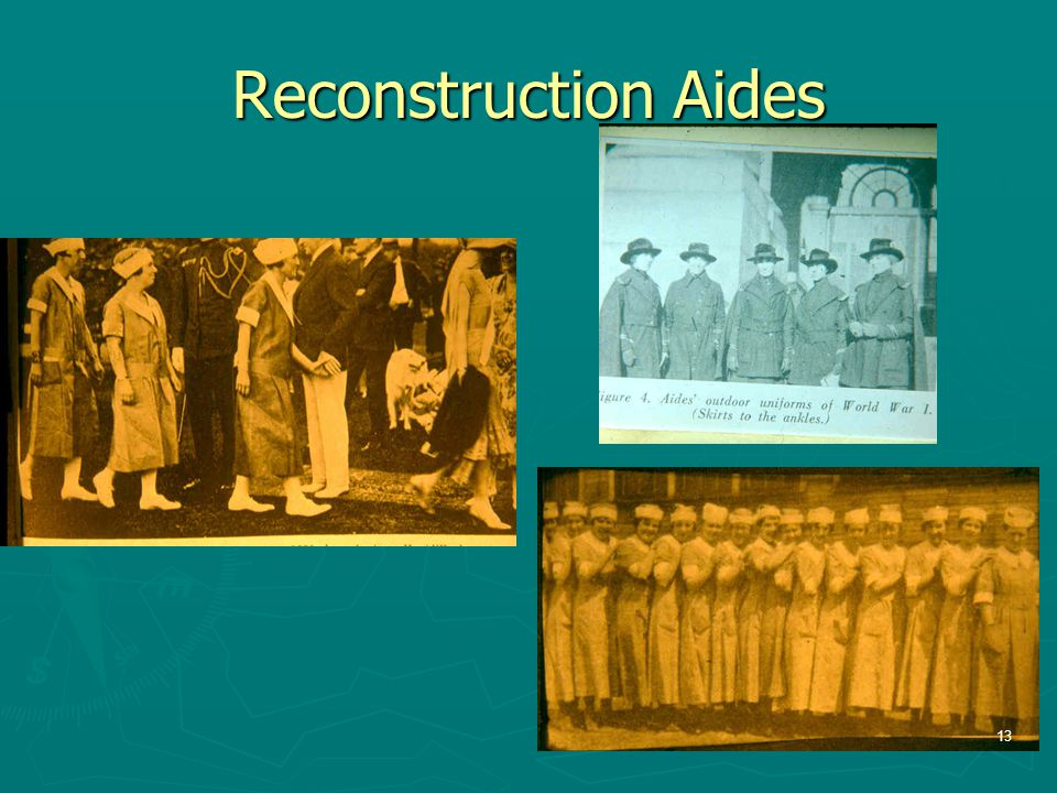 Reconstruction Aides