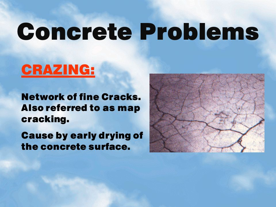 Concrete Problems CRAZING: