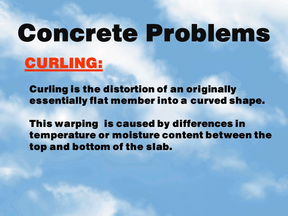 Concrete Problems CURLING:
