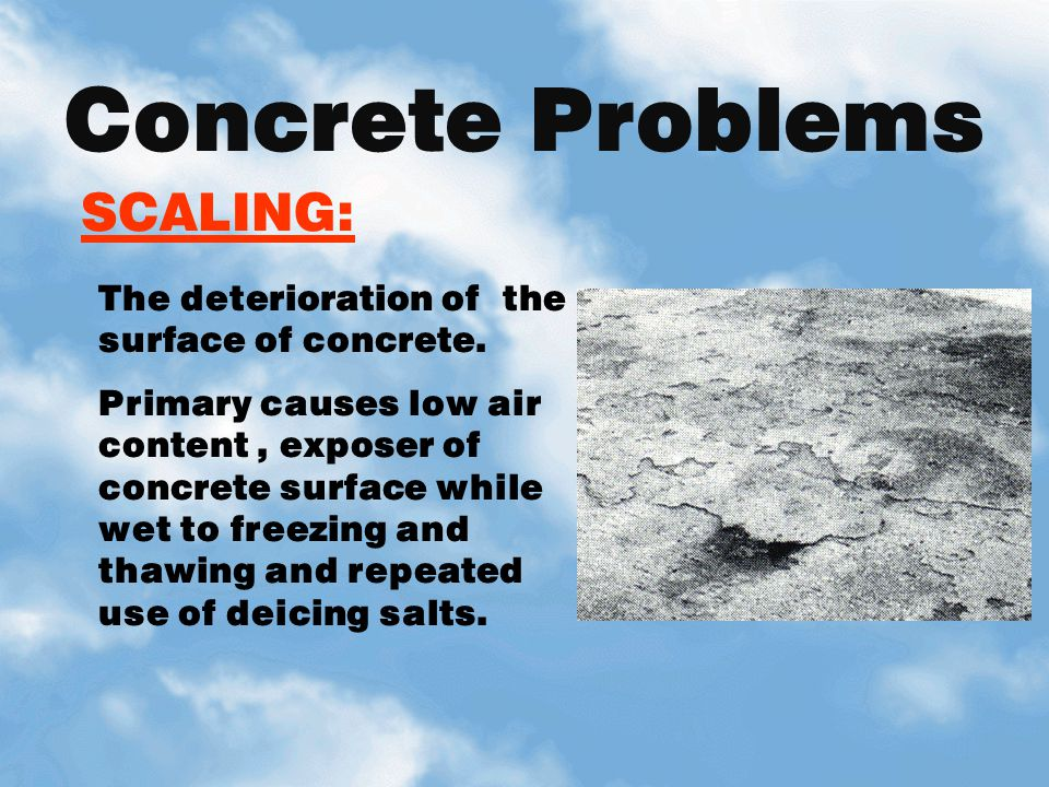 Concrete Problems SCALING: