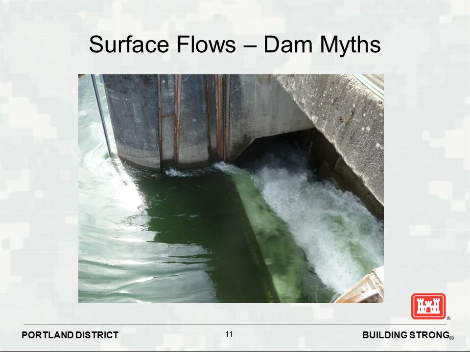 Surface Flows – Dam Myths