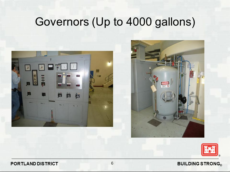 Governors (Up to 4000 gallons)