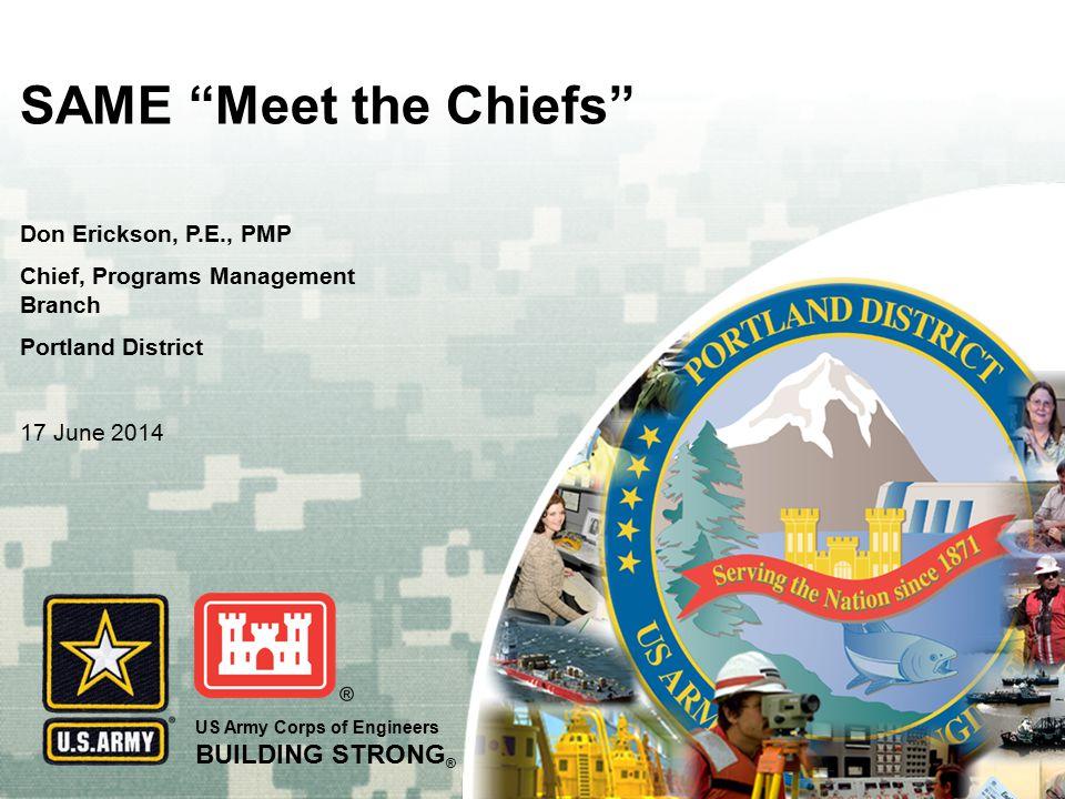 SAME Meet the Chiefs Don Erickson, P.E., PMP