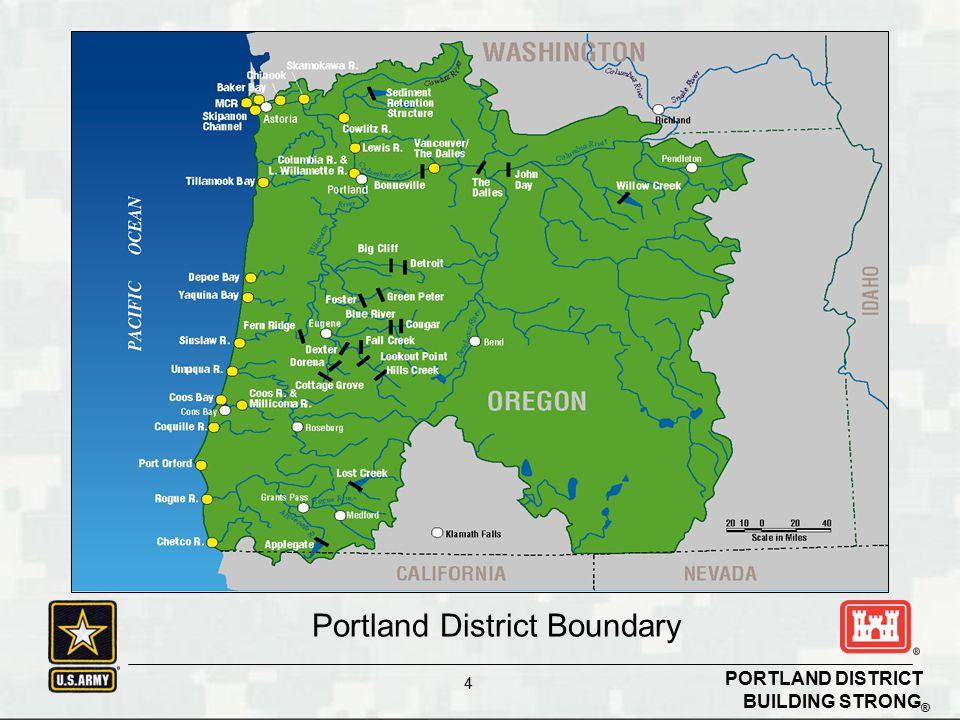 Portland District Boundary