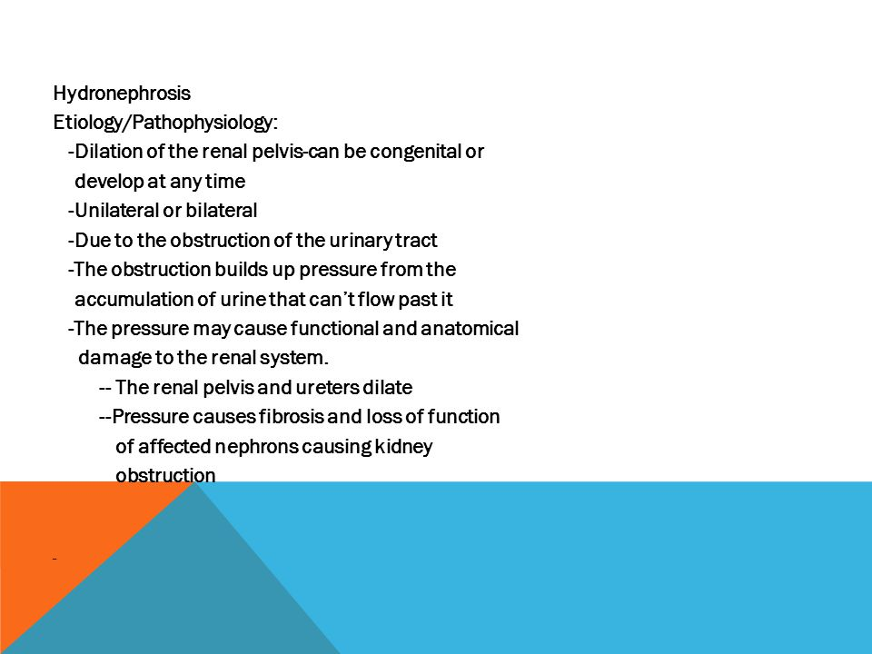 Etiology/Pathophysiology:
