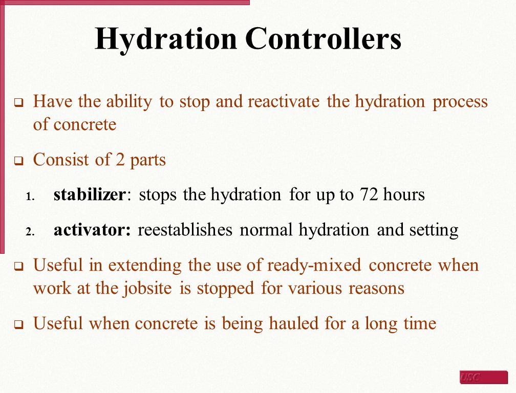 Hydration Controllers