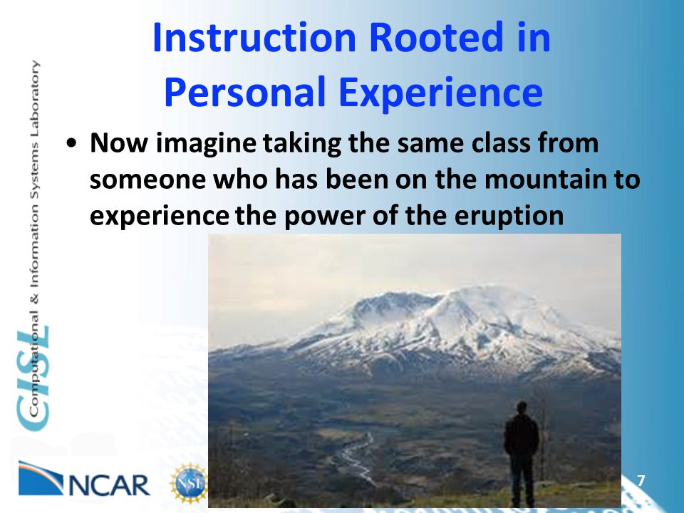 Instruction Rooted in Personal Experience