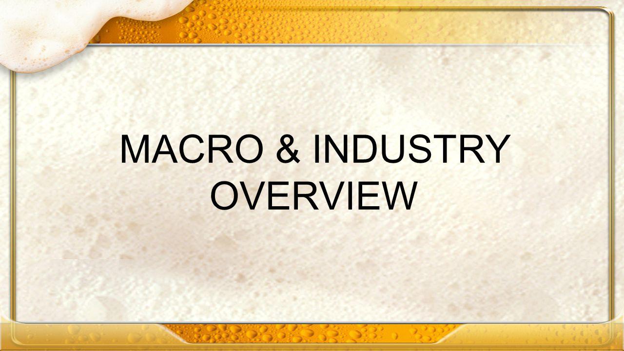 MACRO & INDUSTRY OVERVIEW
