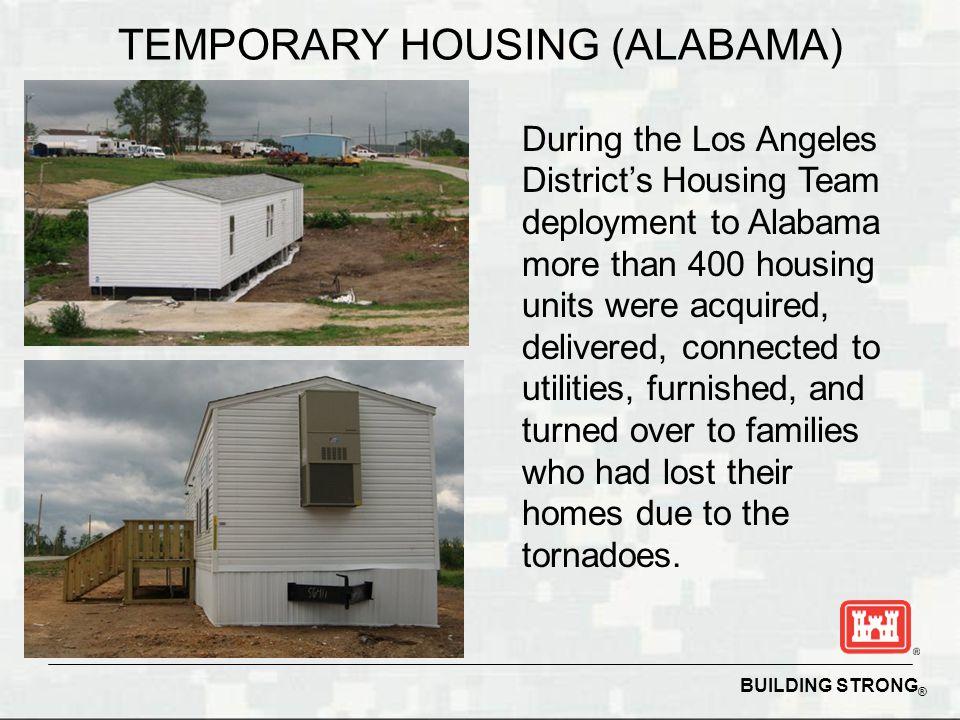 TEMPORARY HOUSING (ALABAMA)