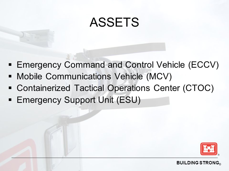 ASSETS Emergency Command and Control Vehicle (ECCV)