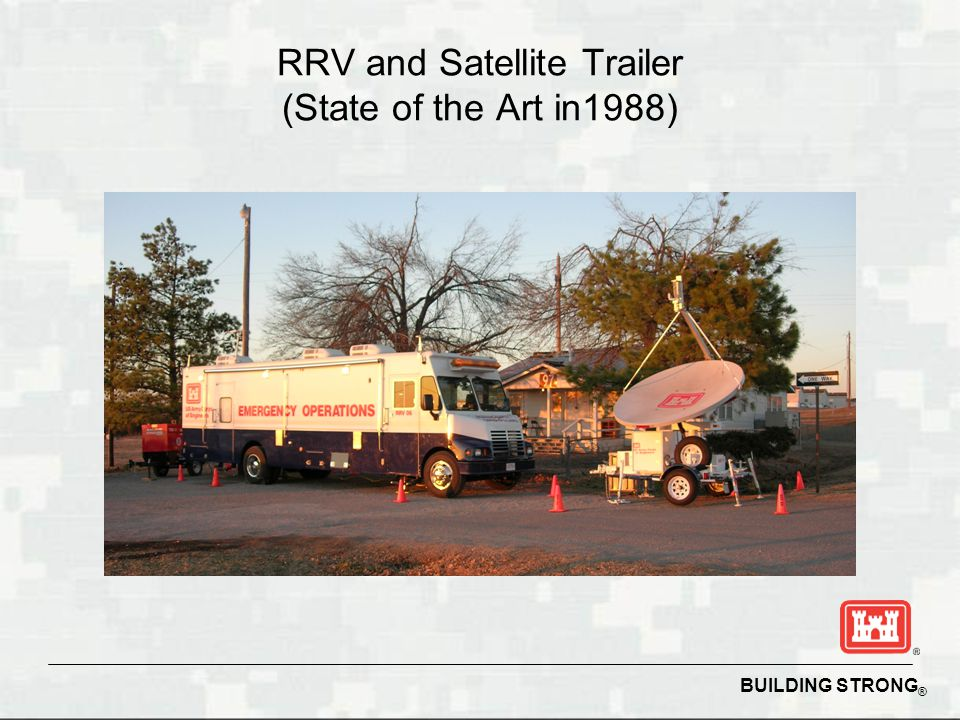 RRV and Satellite Trailer (State of the Art in1988)