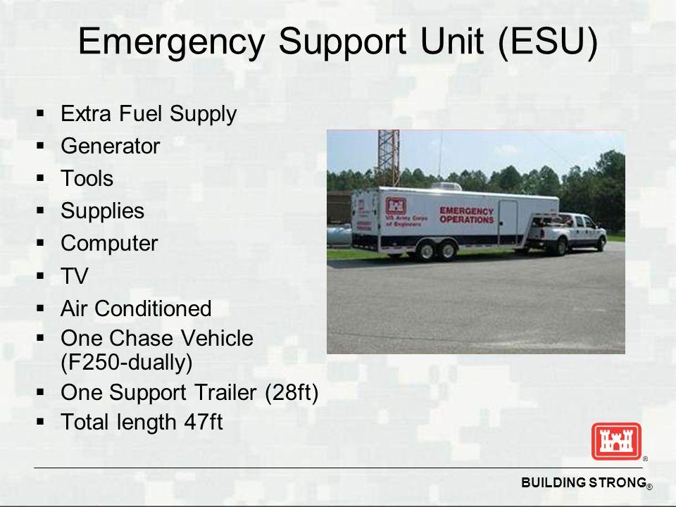 Emergency Support Unit (ESU)