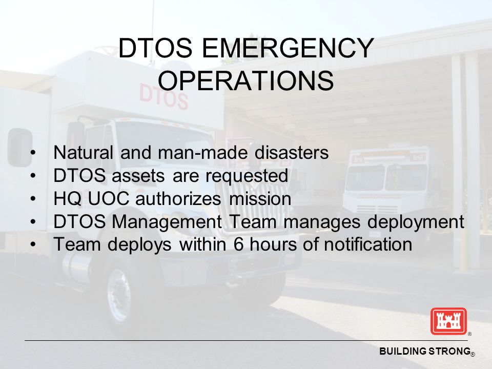 DTOS EMERGENCY OPERATIONS