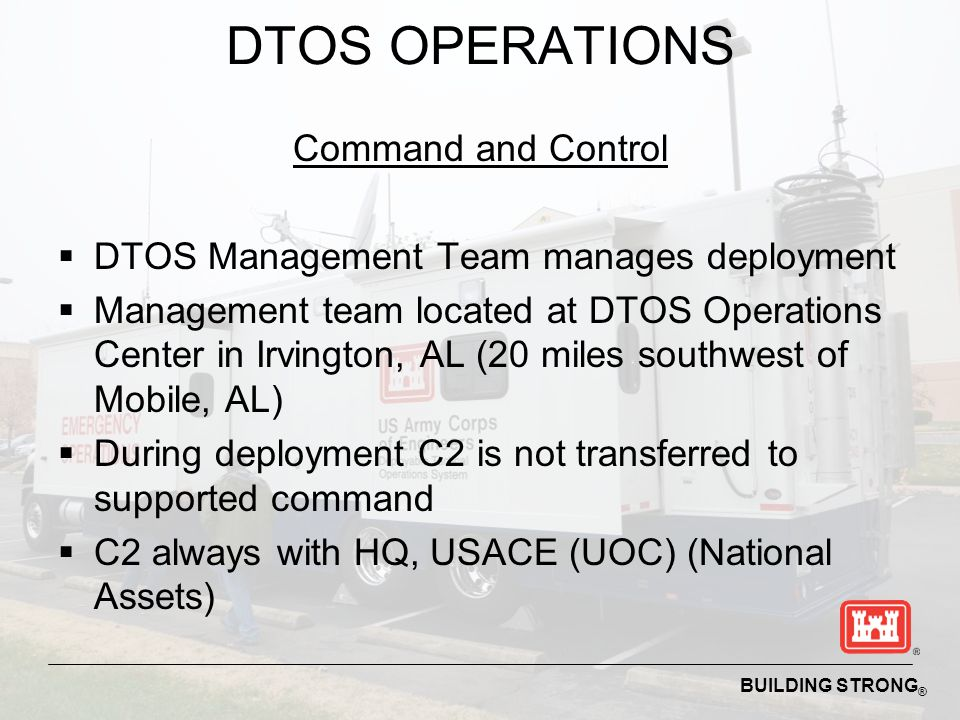 DTOS OPERATIONS Command and Control