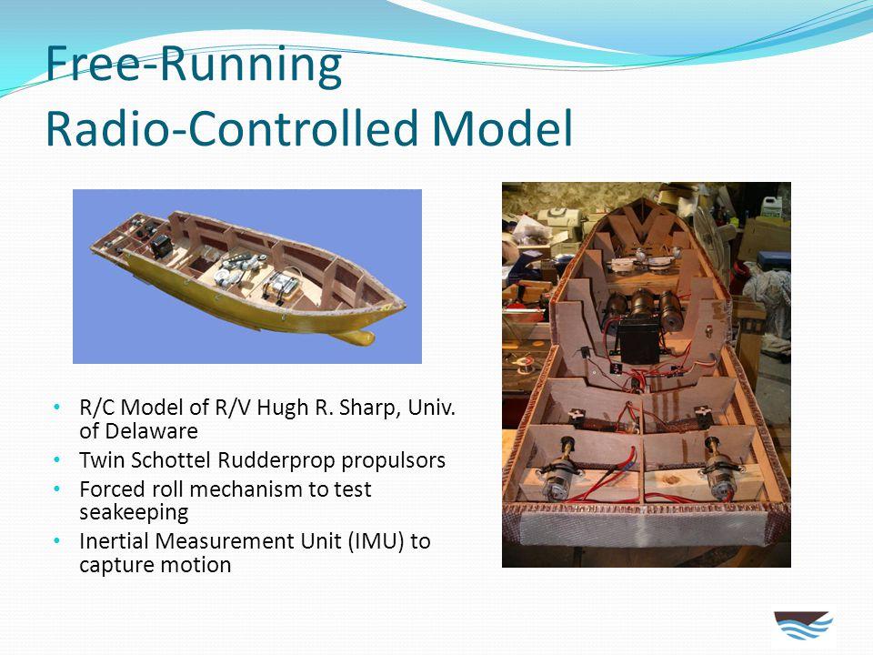 Free-Running Radio-Controlled Model