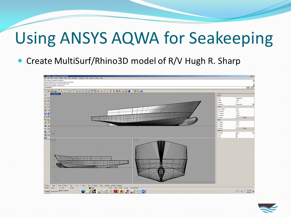 Using ANSYS AQWA for Seakeeping