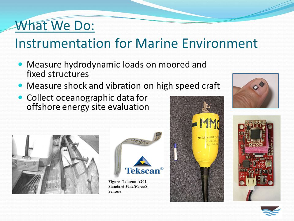 What We Do: Instrumentation for Marine Environment