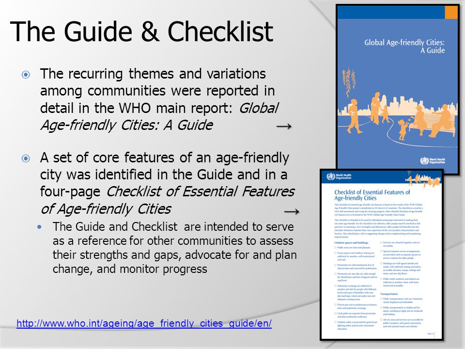 The Guide & Checklist → →