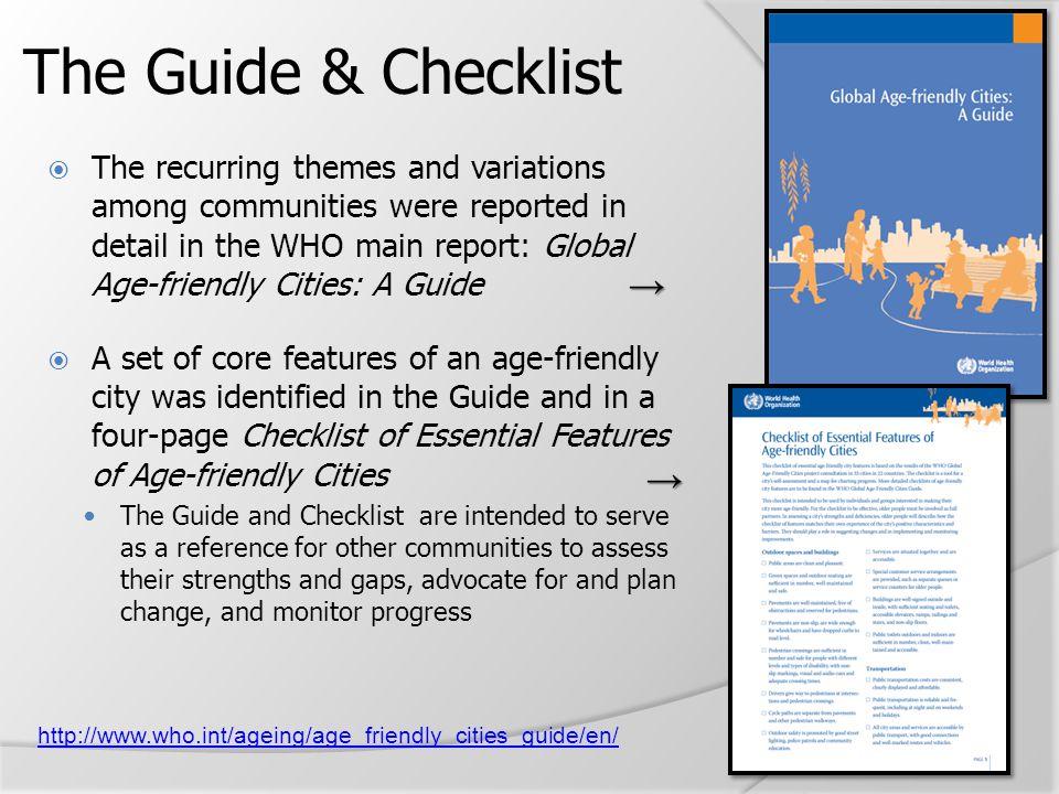 The Guide & Checklist → →