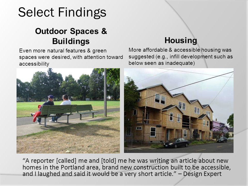 Outdoor Spaces & Buildings