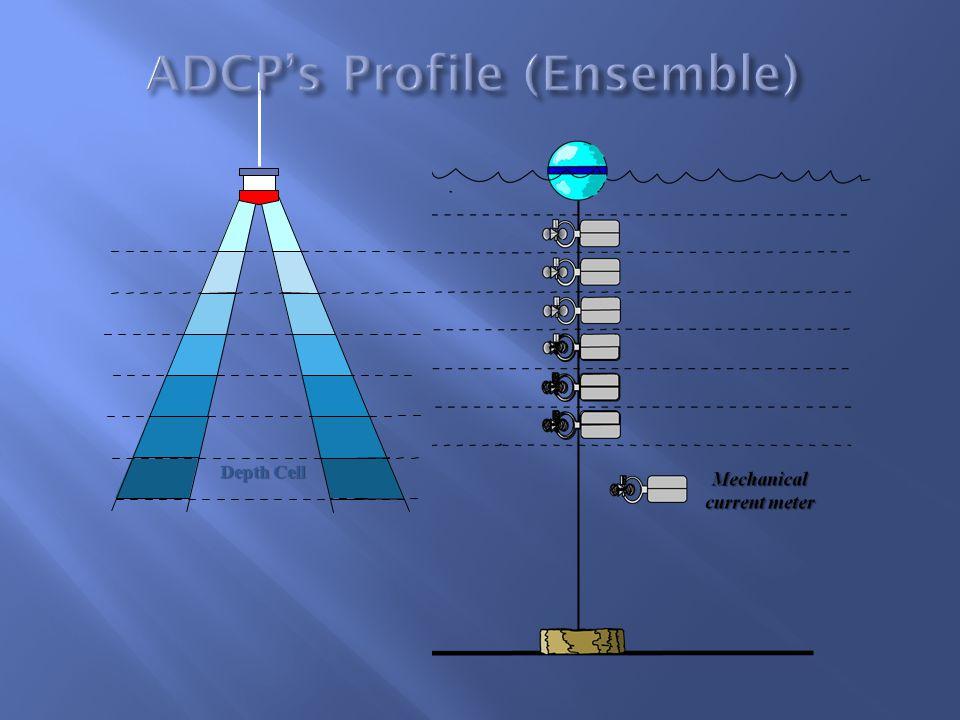 ADCP's Profile (Ensemble)