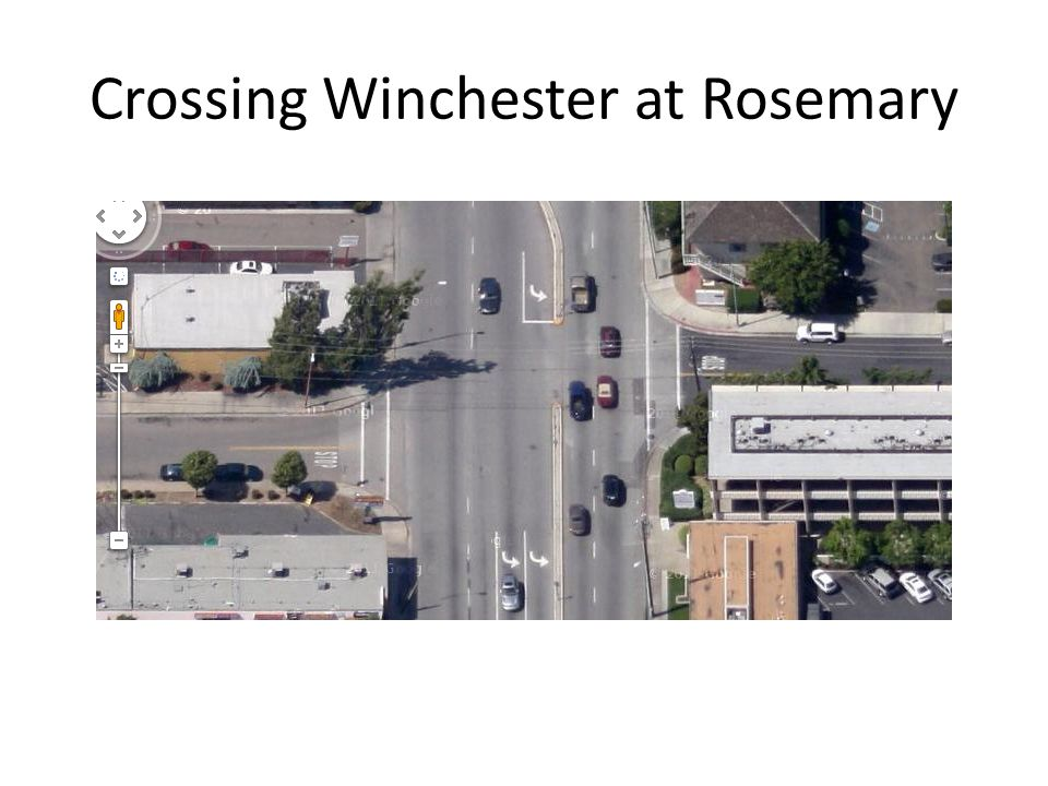Crossing Winchester at Rosemary