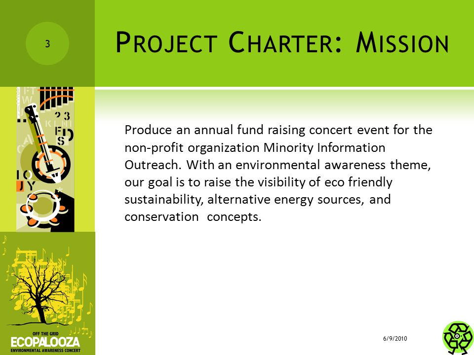 Project Charter: Mission