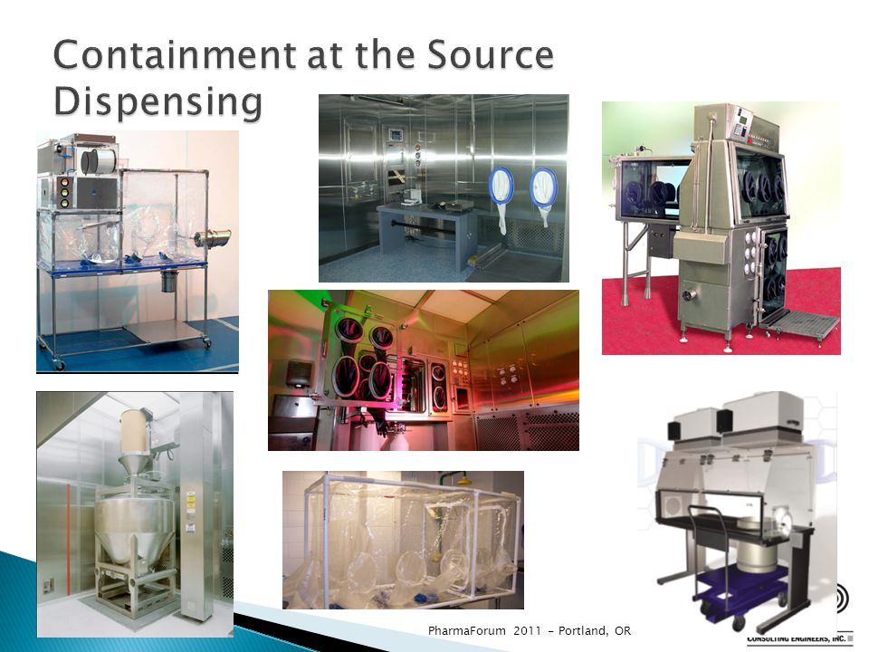 Containment at the Source Dispensing