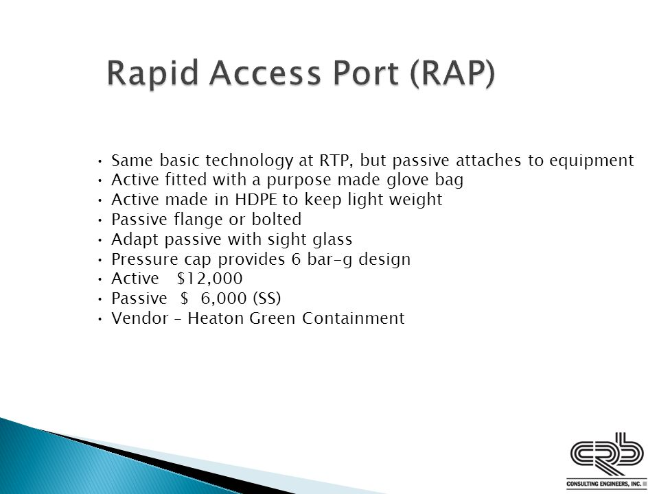 Rapid Access Port (RAP)