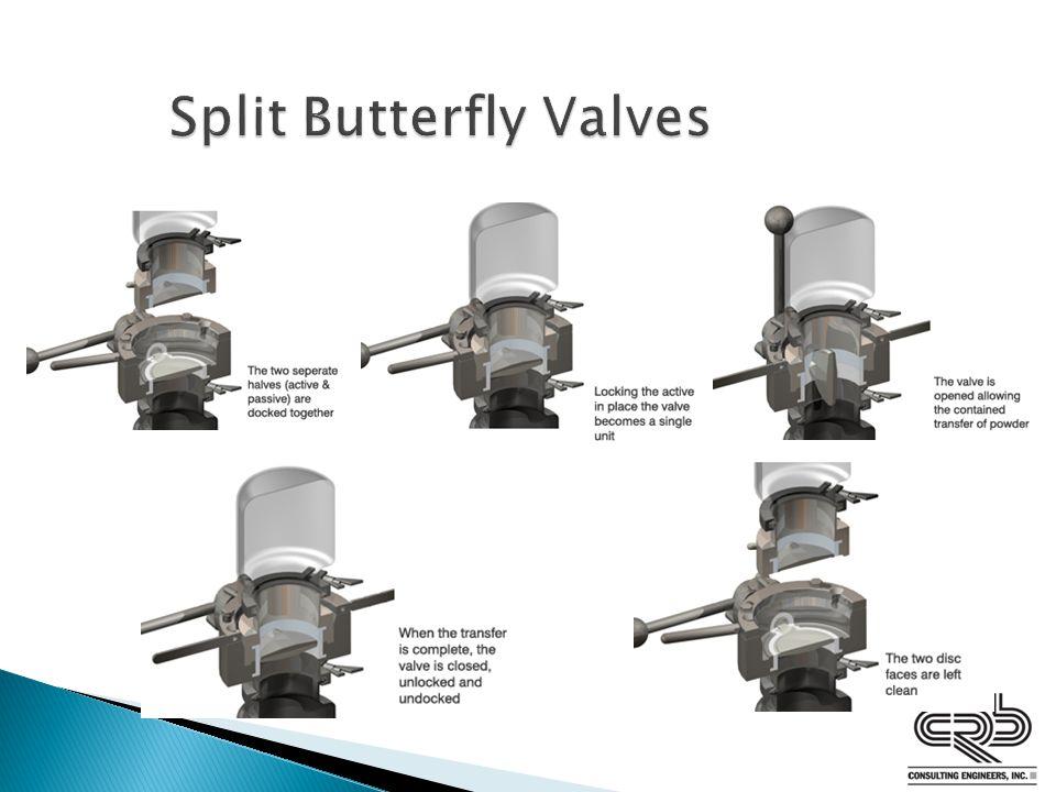 Split Butterfly Valves