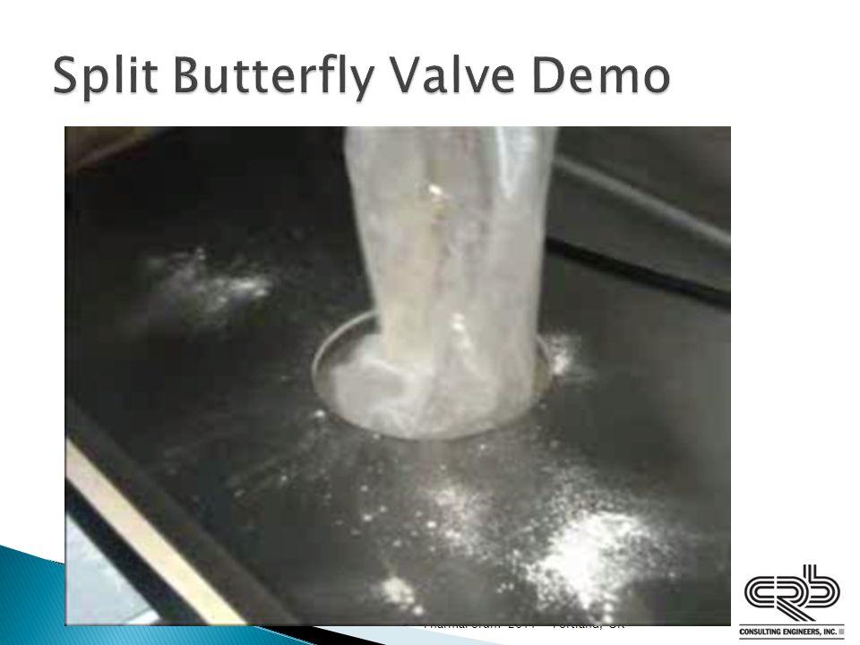 Split Butterfly Valve Demo