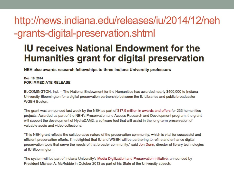 http://news.indiana.edu/releases/iu/2014/12/neh-grants-digital-preservation.shtml