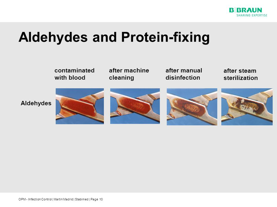 Aldehydes and Protein-fixing