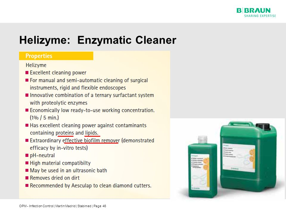 Helizyme: Enzymatic Cleaner