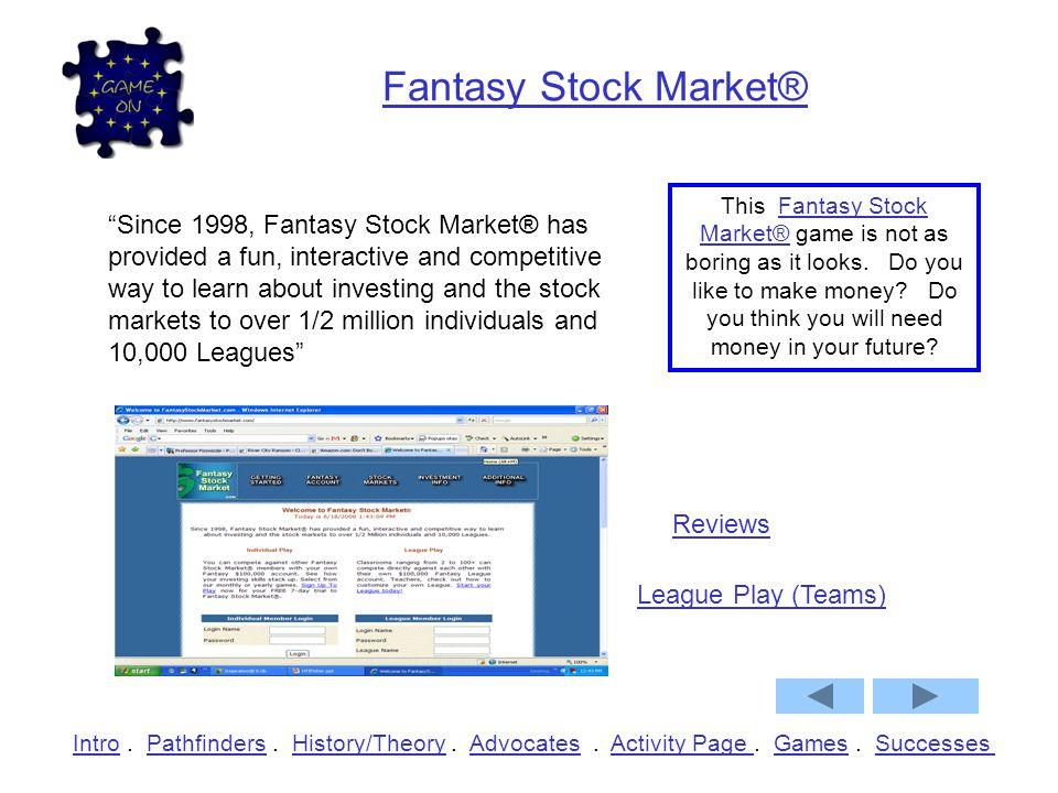Fantasy Stock Market®