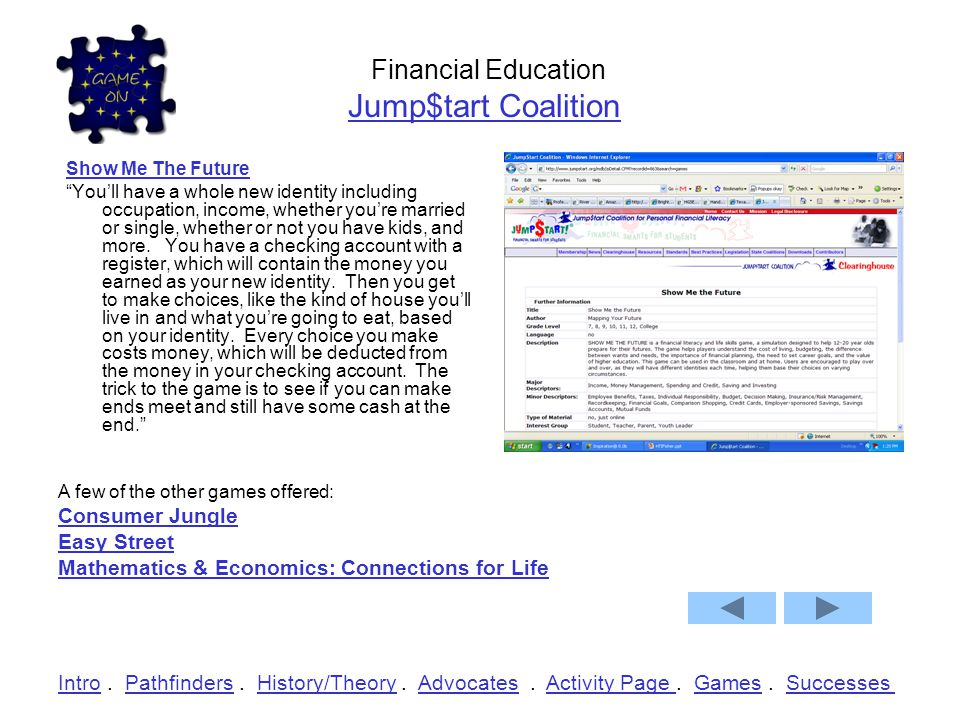 Financial Education Jump$tart Coalition