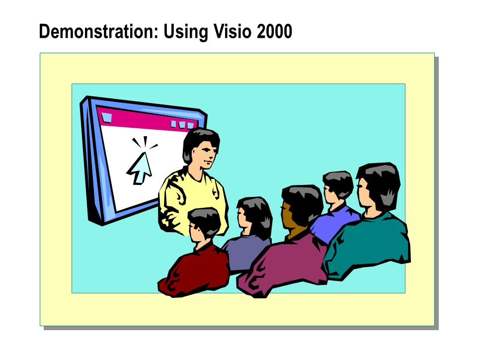 Demonstration: Using Visio 2000