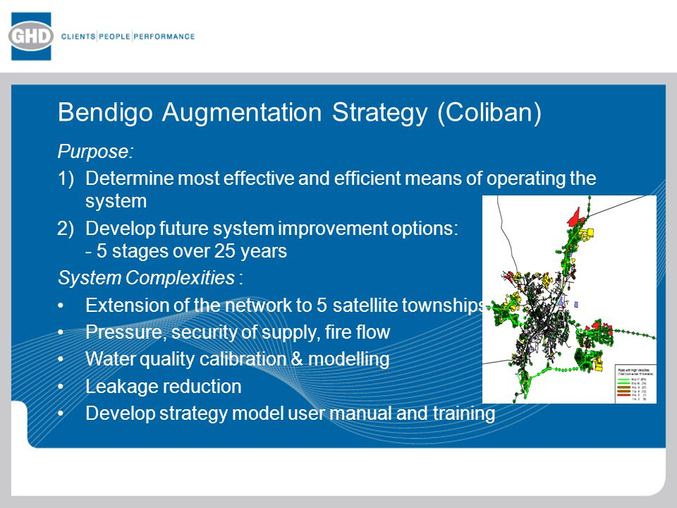 Bendigo Augmentation Strategy (Coliban)
