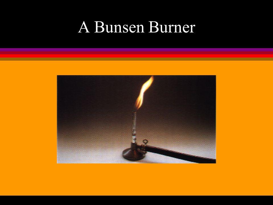 A Bunsen Burner