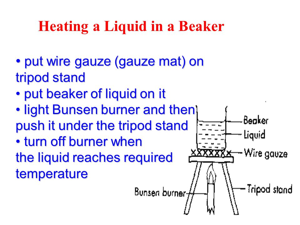 Instructions On How To Light A Bunsen Burner Safely