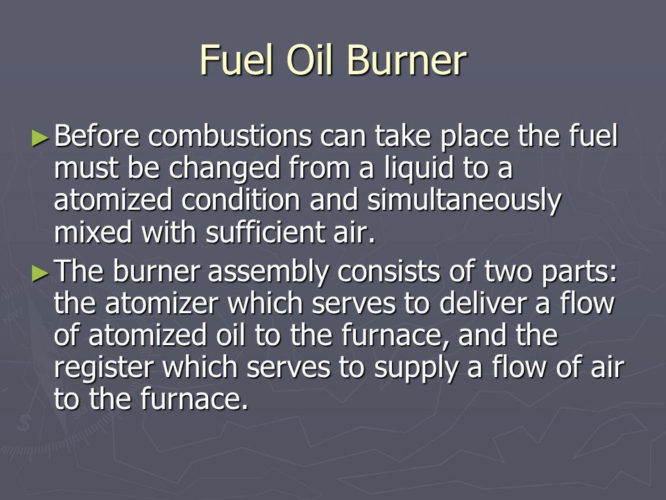 Fuel Oil Burner
