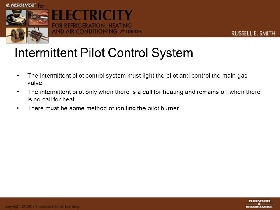 Intermittent Pilot Control System