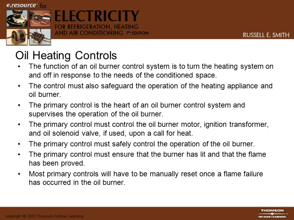 Oil Heating Controls