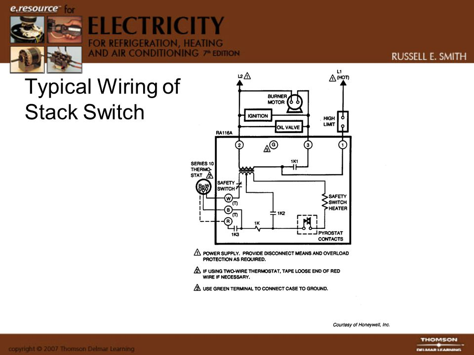 Typical Wiring of Stack Switch